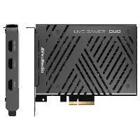 Вътрешен кепчър AVerMedia LIVE Gamer DUO, PCIe Снимка 2
