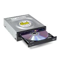 Записващо устройство LG GH24NSD5, DVD-RW, за вграждане в компютър, SATA, черен Снимка 2