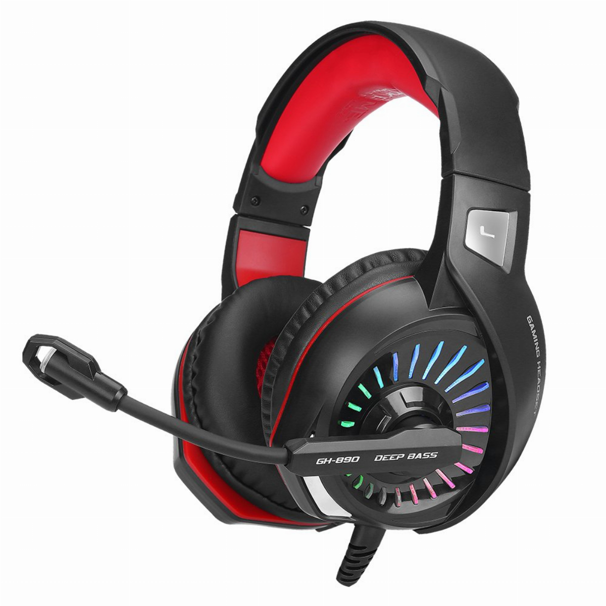 Xtrike ME геймърски слушалки Gaming Headphones GH-890 - RGB, 50mm, PC/Consoles