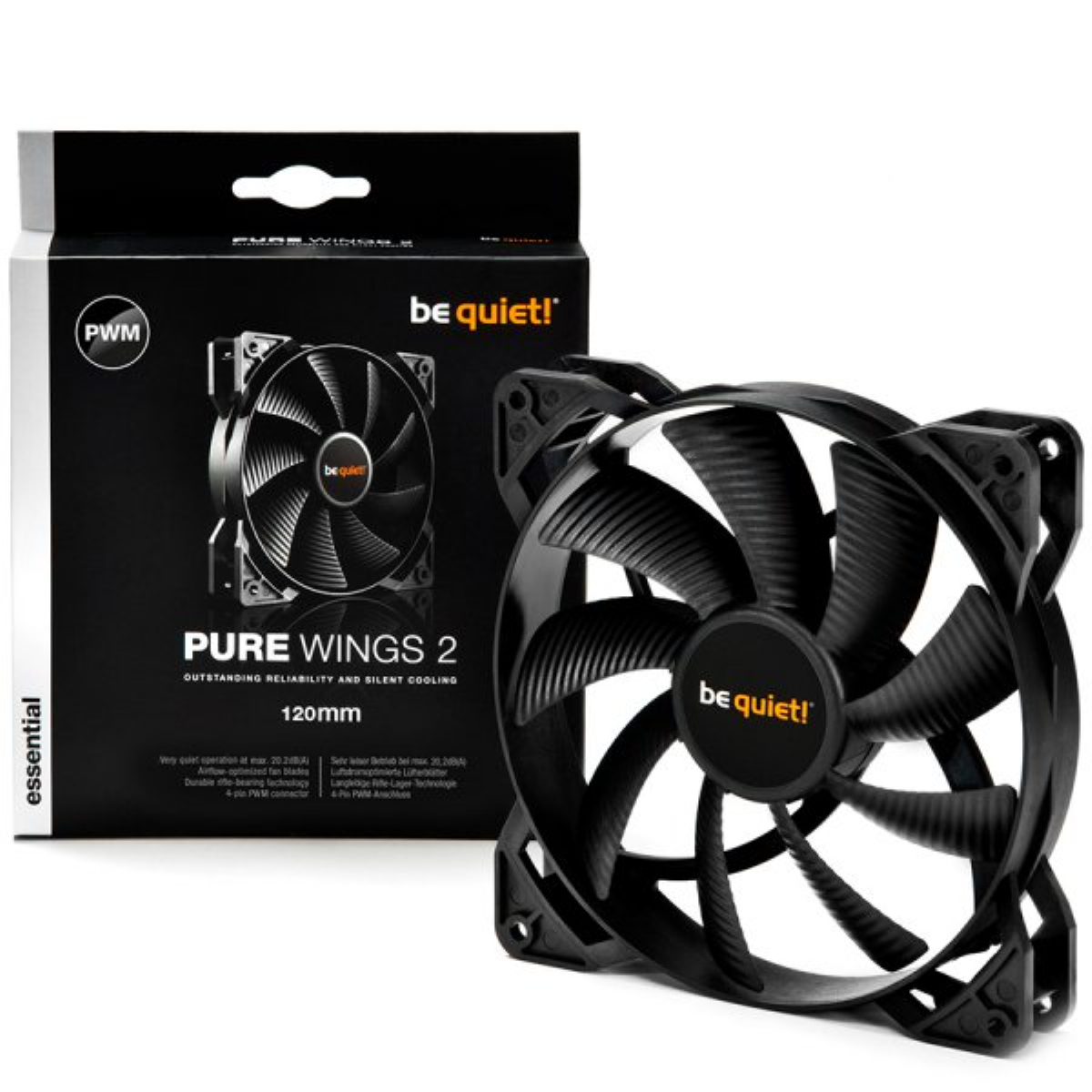 Вентилатор be quiet! Pure Wings 2 120mm 4-pin PWM