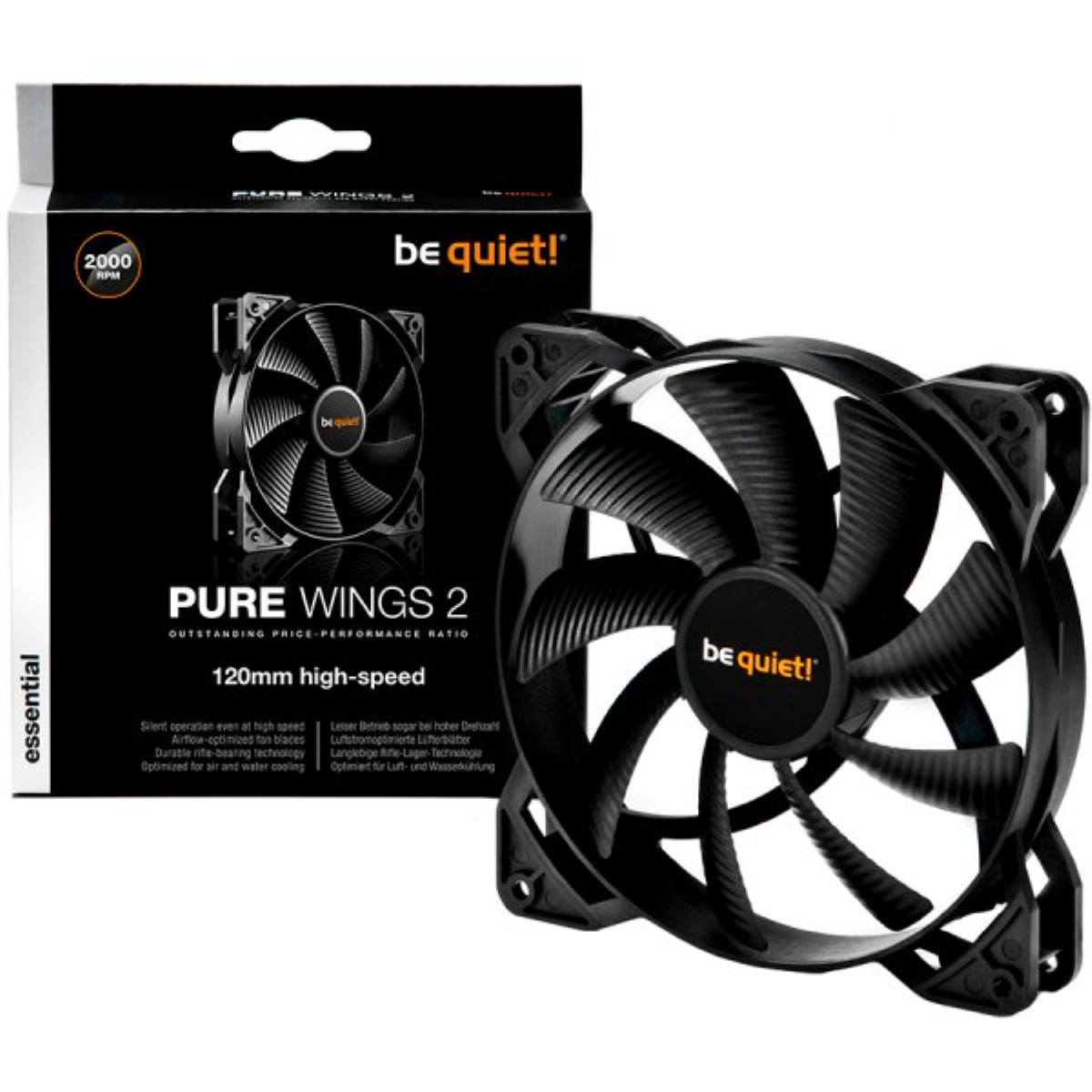 Вентилатор be quiet! Pure Wings 2 120mm High-Speed 3-Pin