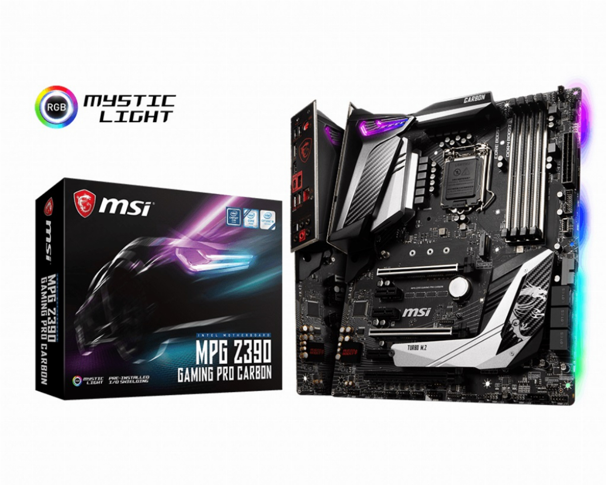 Дънна платка MSI MPG Z390 GAMING PRO CARBON