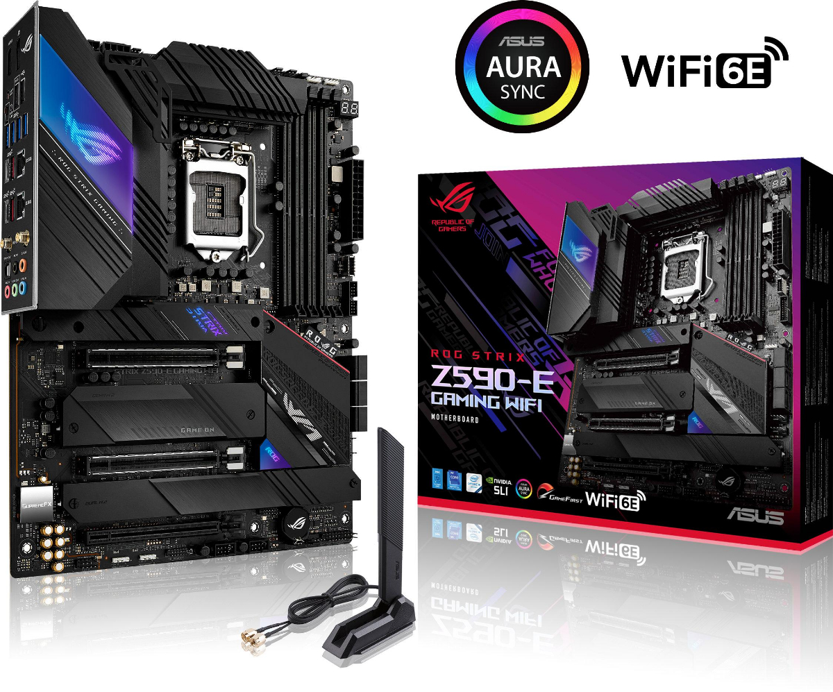 Дънна платка ASUS ROG STRIX Z590-E GAMING WIFI