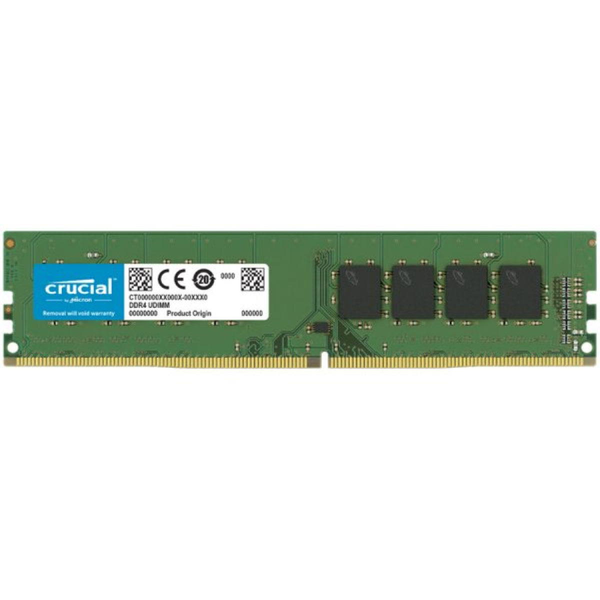 Памет Crucial 16GB DDR4 3200MHz CL22 CT16G4DFRA32A