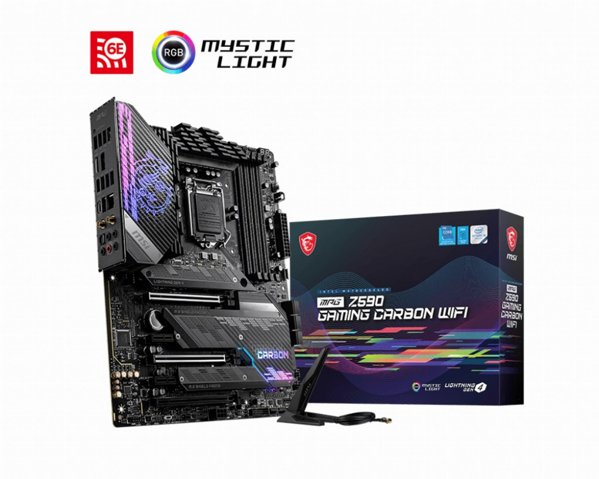 Дънна платка MSI MPG Z590 GAMING CARBON (WI-FI)