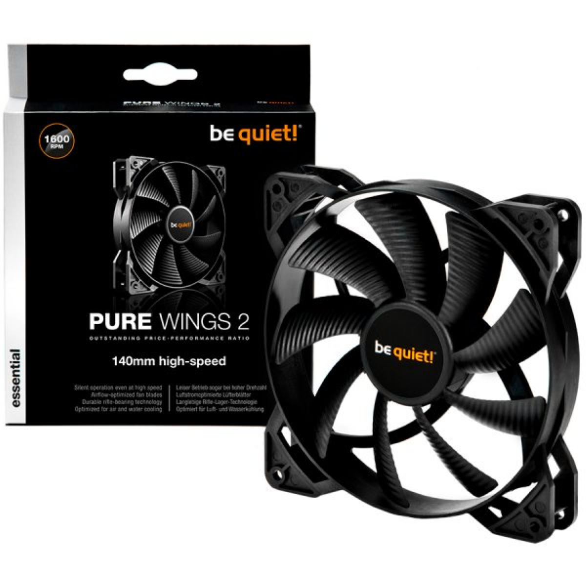 Вентилатор be quiet! Pure Wings 2 140mm 4-pin PWM High-Speed