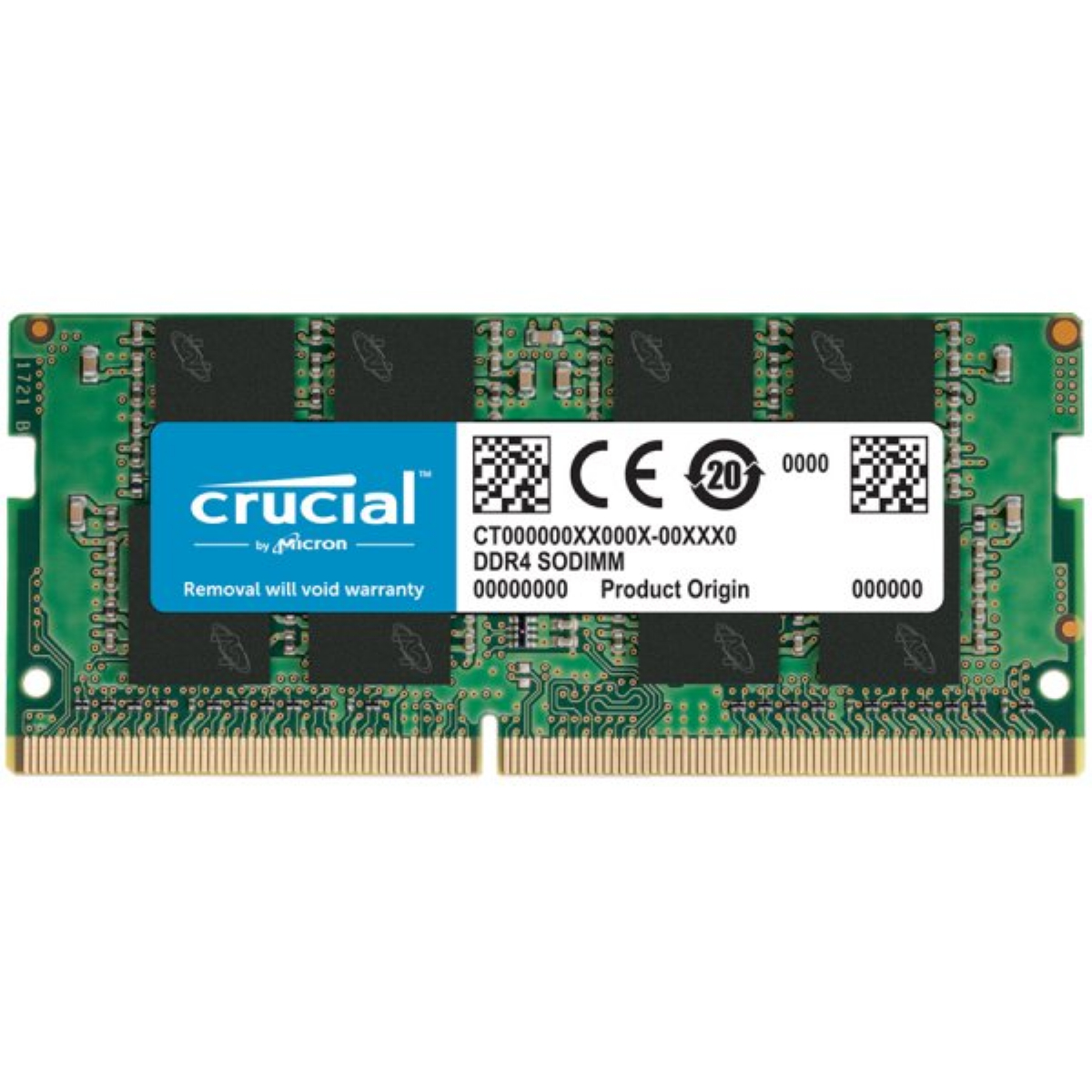 Памет CRUCIAL 8GB DDR4 2666MHz CL19 SODIMM