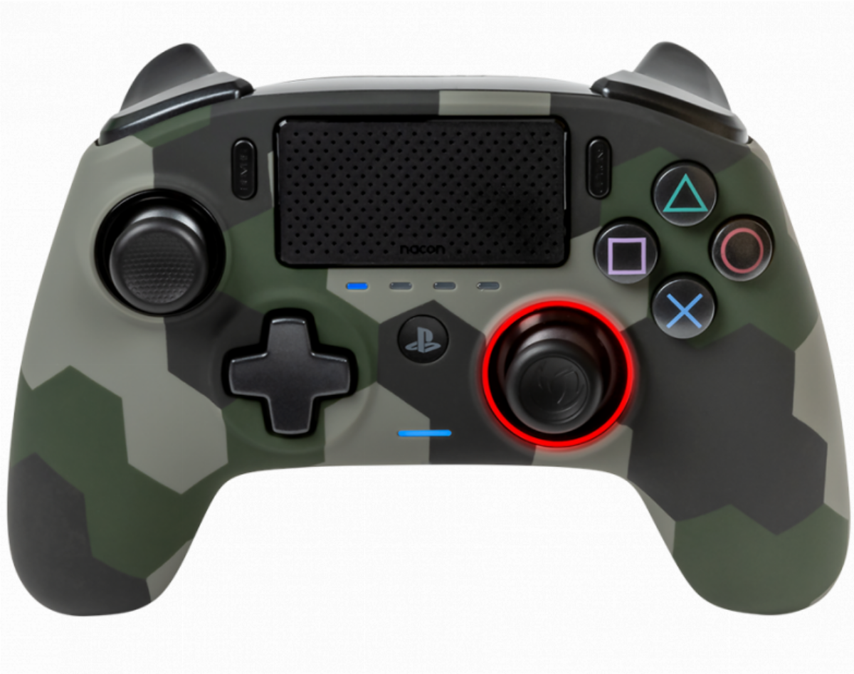 Жичен геймпад Nacon Revolution Pro 3 Camo Green