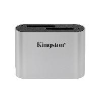 Четец за карти Kingston Workflow SD Reader, USB-C, USB 3.2 Снимка 1