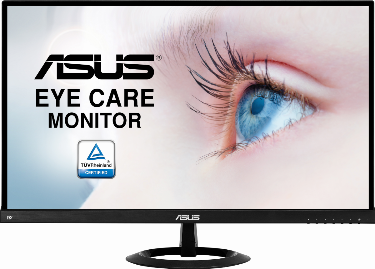Монитор ASUS VX279C Eye Care - 27 inch, Full HD, USB-C™, IPS, 75Hz, Adaptive-Sync, Frameless, Flicker Free, Blue Light Filter