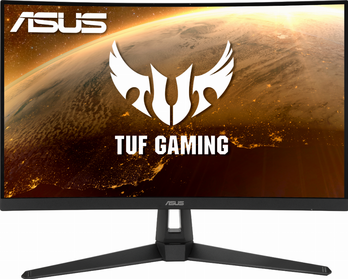 "Монитор ASUS 27"" TUF Gaming VG27WQ1B Curved,  WQHD (2560x1440), 165Hz, 1ms"