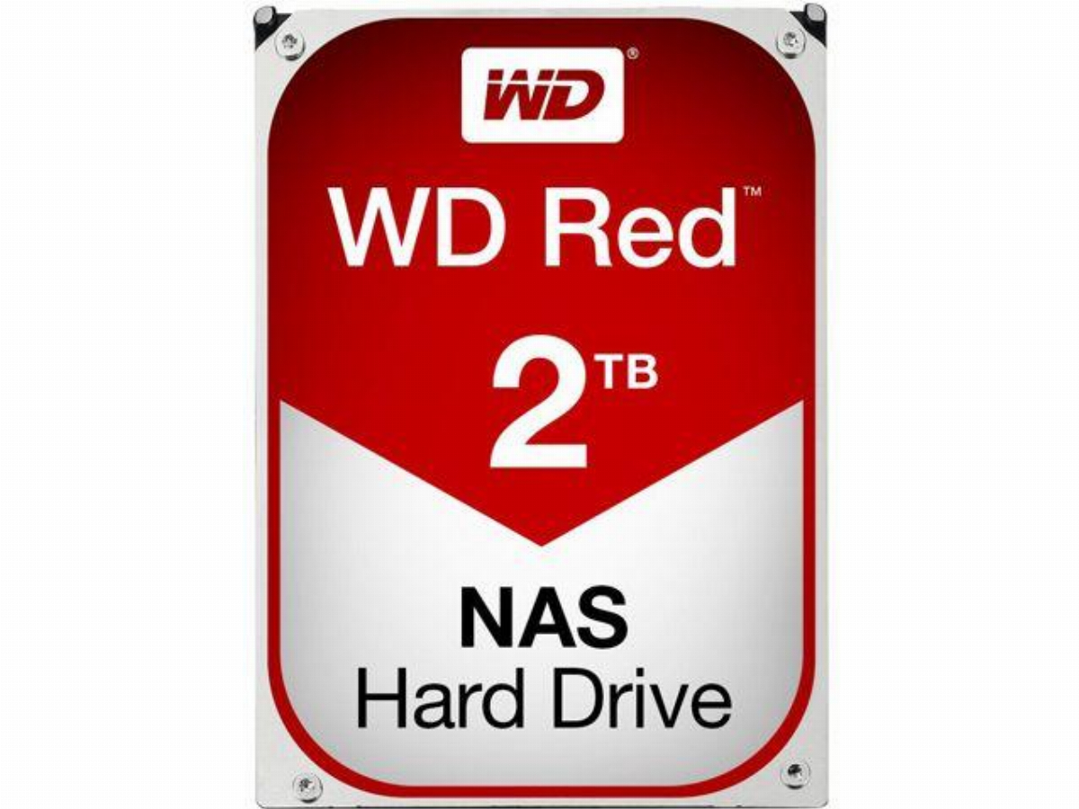 Хард диск WD RED 2TB 5400rpm 64MB SATA 3