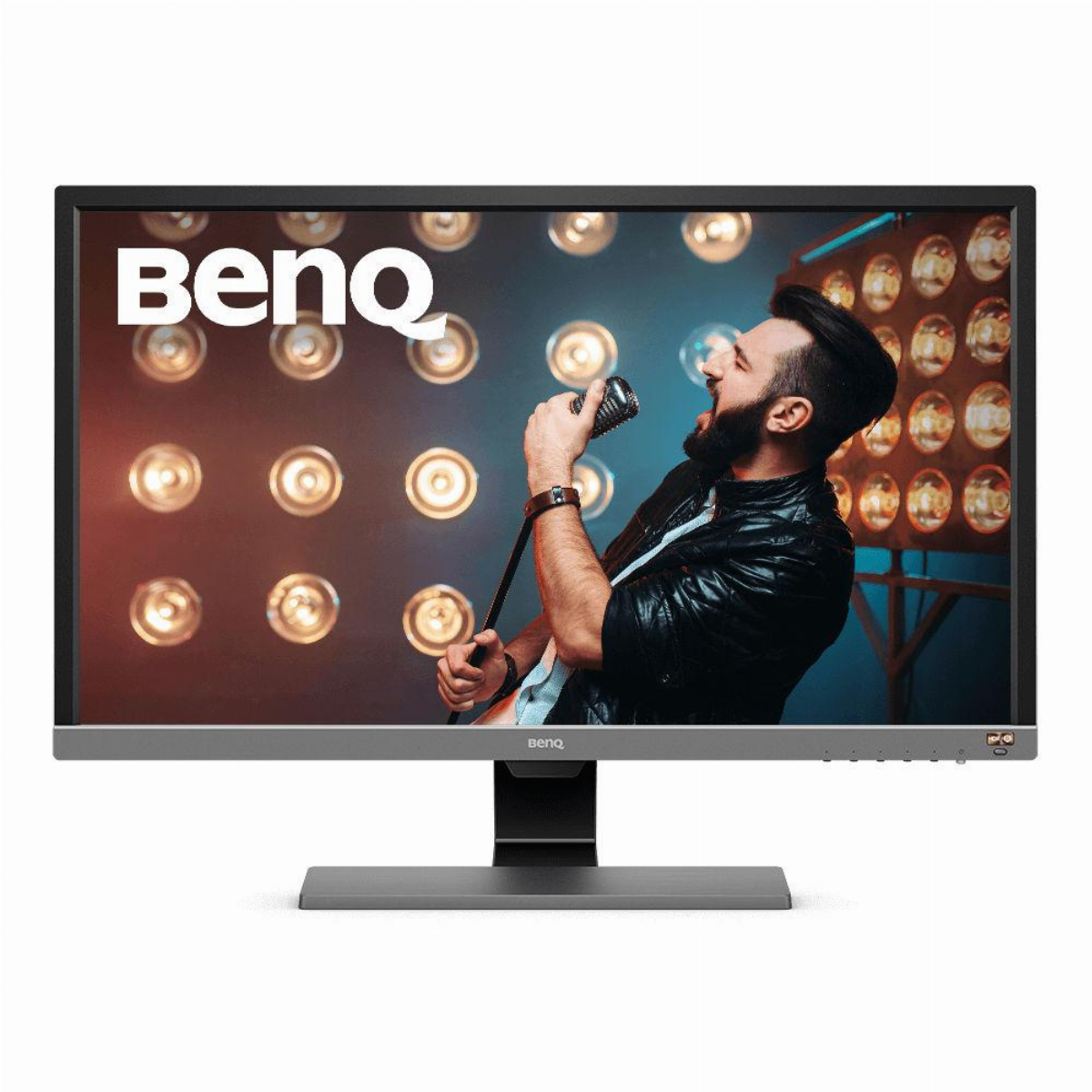 Монитор BenQ EL2870UE, TN, 27 inch, Wide, 4K, HDR, HDMI, DisplayPort Черен