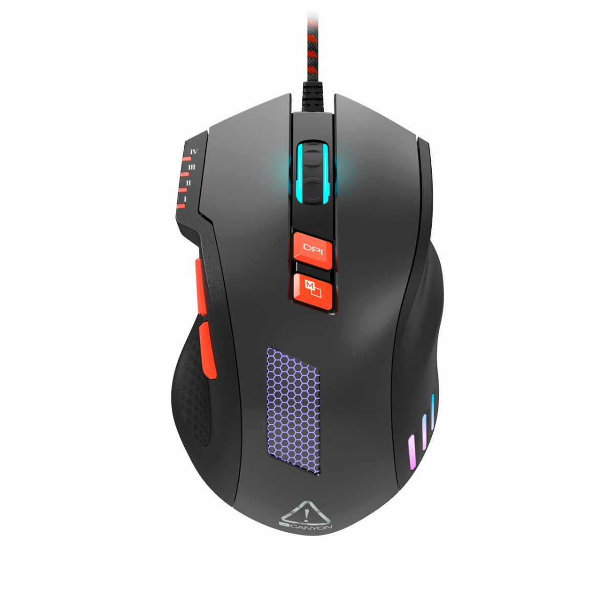 Геймърска мишка CANYON Corax CND-SGM05N Gaming Mouse