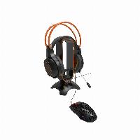 Стойка за слушалки + държач на кабел CANYON 3 in 1 CND-GWH200B Gaming Bungee Снимка 3