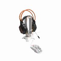 Стойка за слушалки + държач на кабел CANYON 3 in 1 CND-GWH200PW Gaming Bungee Снимка 3