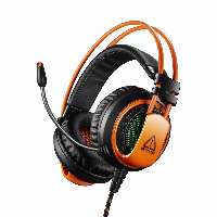 Геймърски слушалки CANYON Corax CND-SGHS5A Gaming headset 3.5mm jack plus USB Снимка 1