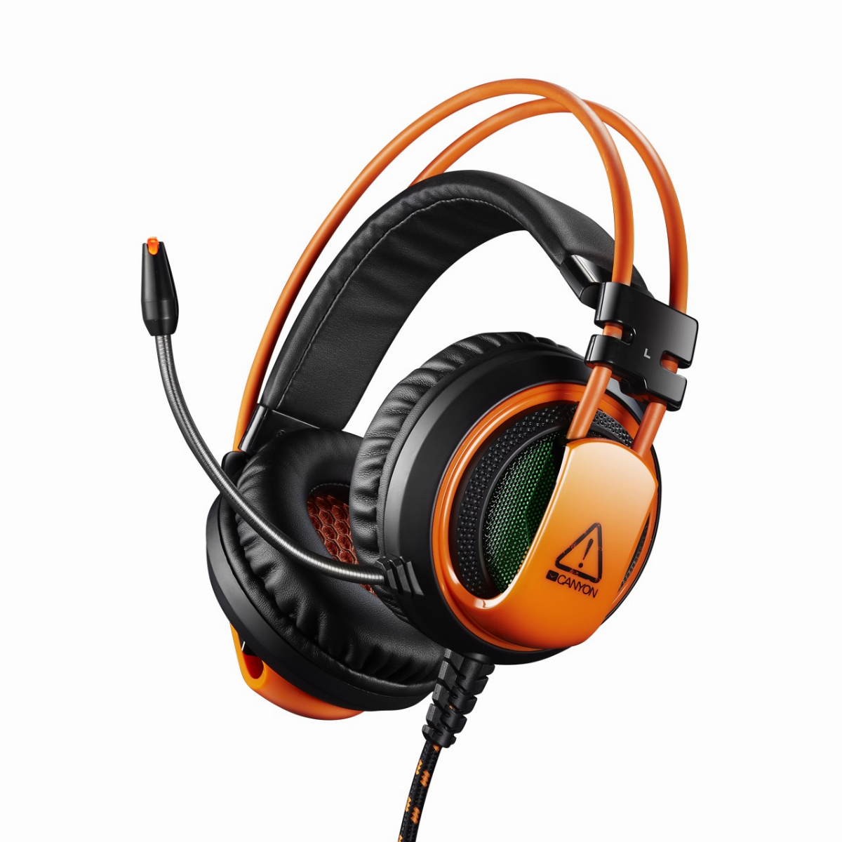 Геймърски слушалки CANYON Corax CND-SGHS5A Gaming headset 3.5mm jack plus USB