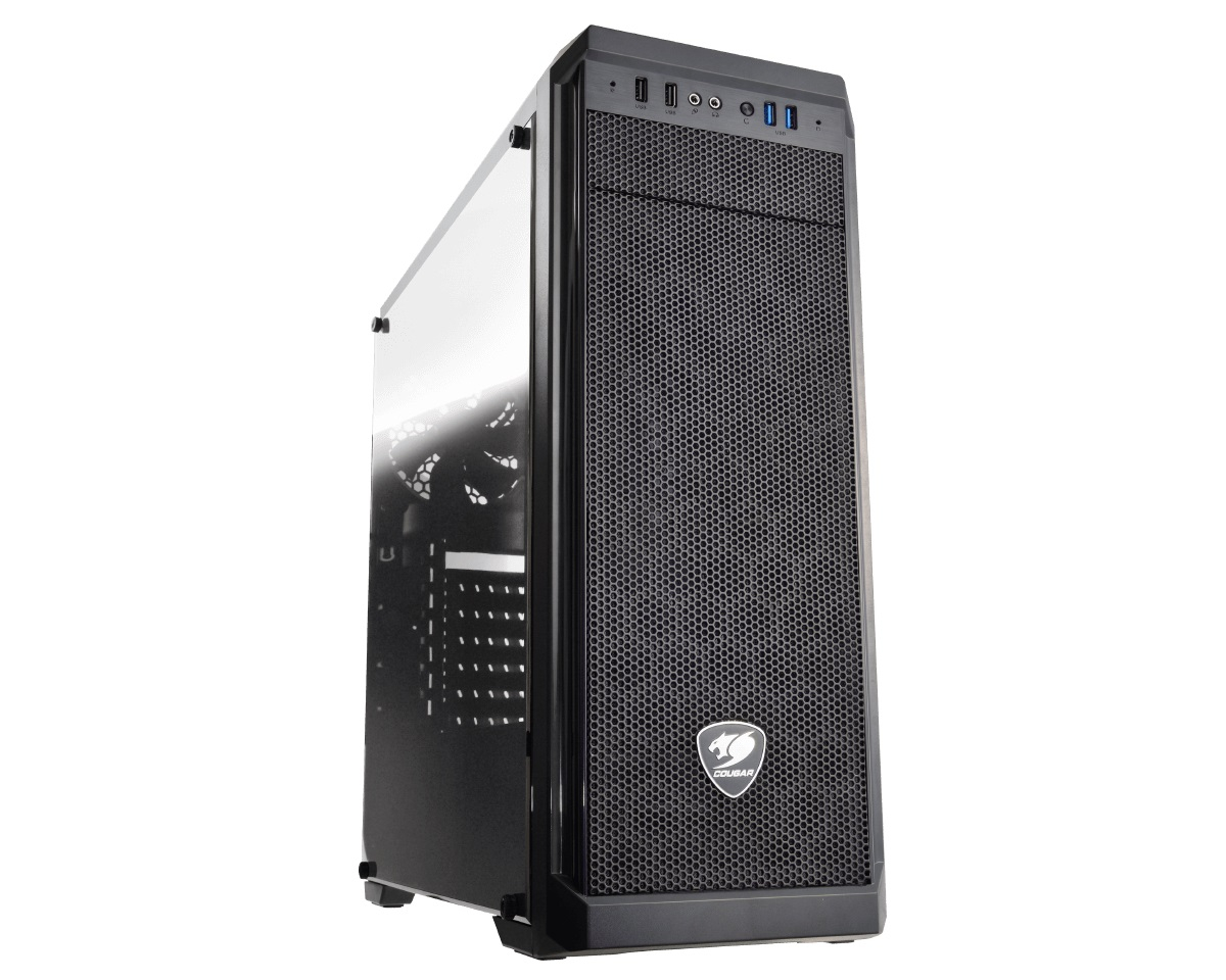Кутия COUGAR MX330-G Mid-Tower Tempered Glass