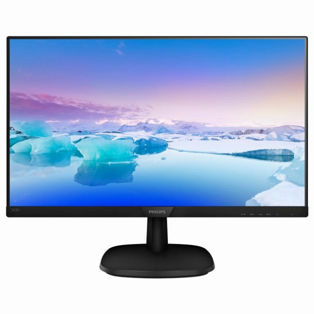 "Монитор PHILIPS 27"" 273V7QDSB/00, FHD 1920x1080, IPS, 5ms, DVI, VGA, HDMI"