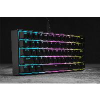 Геймърска механична клавиатура CORSAIR K65 RGB MINI 60% - CHERRY MX Red Снимка 13
