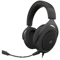 Геймърски слушалки CORSAIR HS50 PRO STEREO Gaming Headset Green - CA-9011216-EU Снимка 1