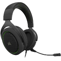 Геймърски слушалки CORSAIR HS50 PRO STEREO Gaming Headset Green - CA-9011216-EU Снимка 2