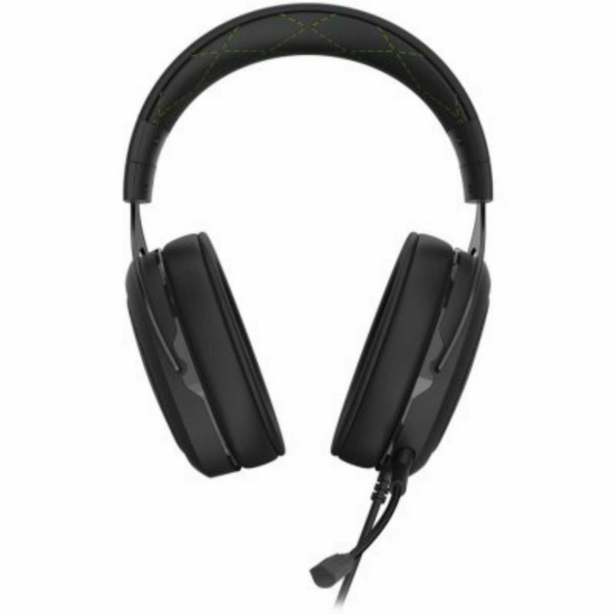 Геймърски слушалки CORSAIR HS50 PRO STEREO Gaming Headset Green - CA-9011216-EU Снимка 3