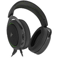 Геймърски слушалки CORSAIR HS50 PRO STEREO Gaming Headset Green - CA-9011216-EU Снимка 4