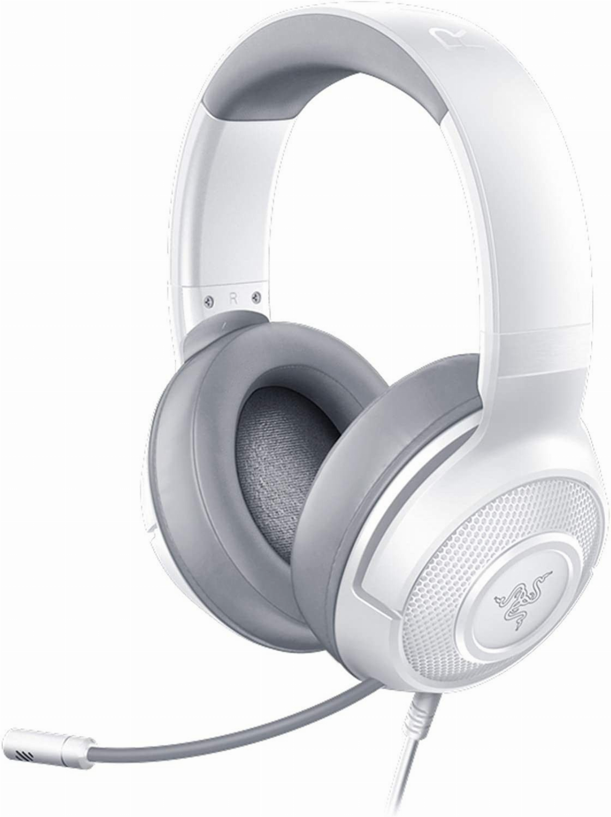 Геймърски слушалки Razer Kraken X Mercury Gaming Headset White