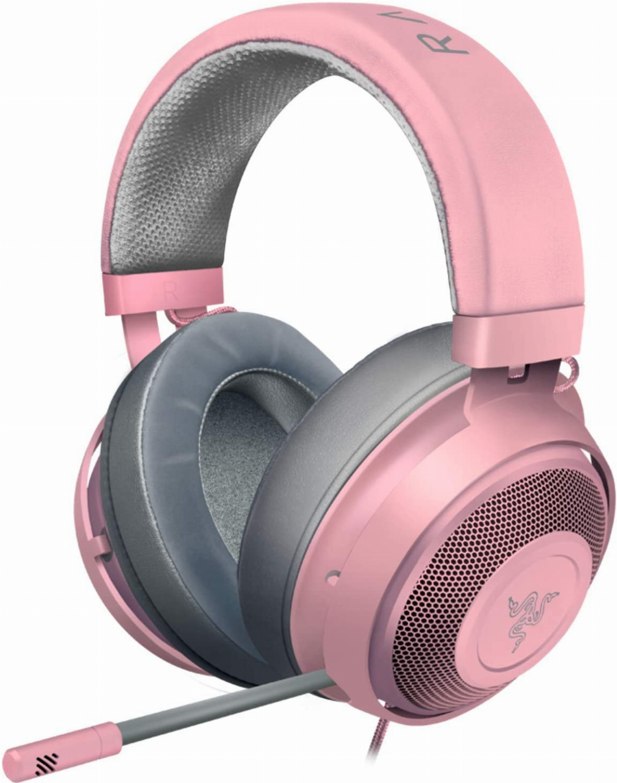Геймърски слушалки Razer Kraken Pink 2019 Gaming Headset Quartz