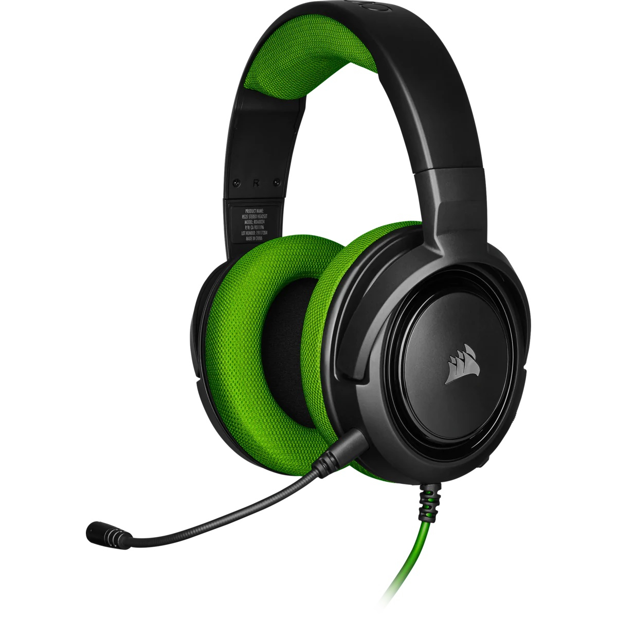 Геймърски слушалки Corsair HS35 STEREO Gaming Headset Green