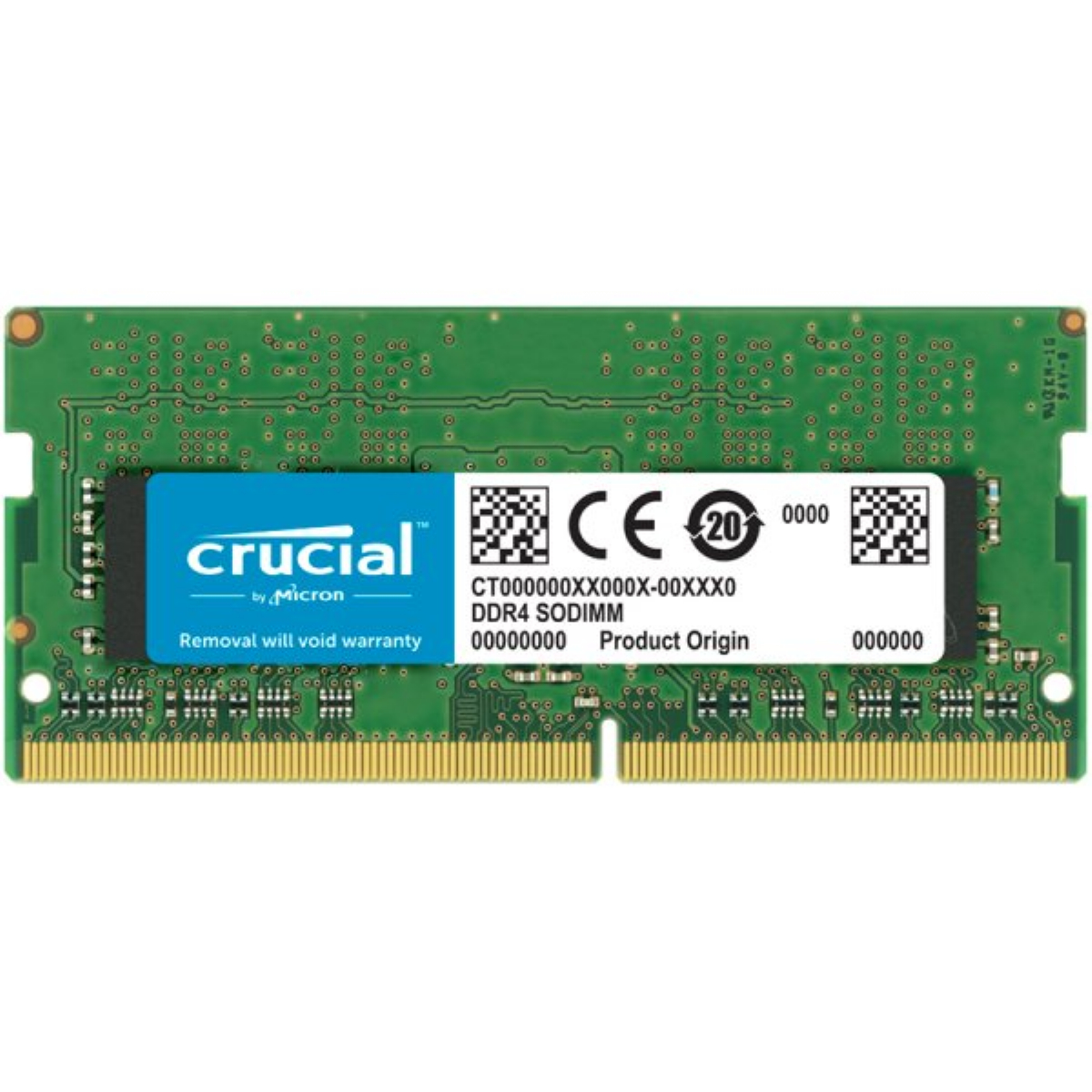 Памет CRUCIAL 32GB DDR4 3200MHz SODIMM CL22