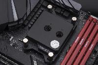Воден блок за процесор EK-Quantum Velocity - AMD Copper + Acetal Снимка 3