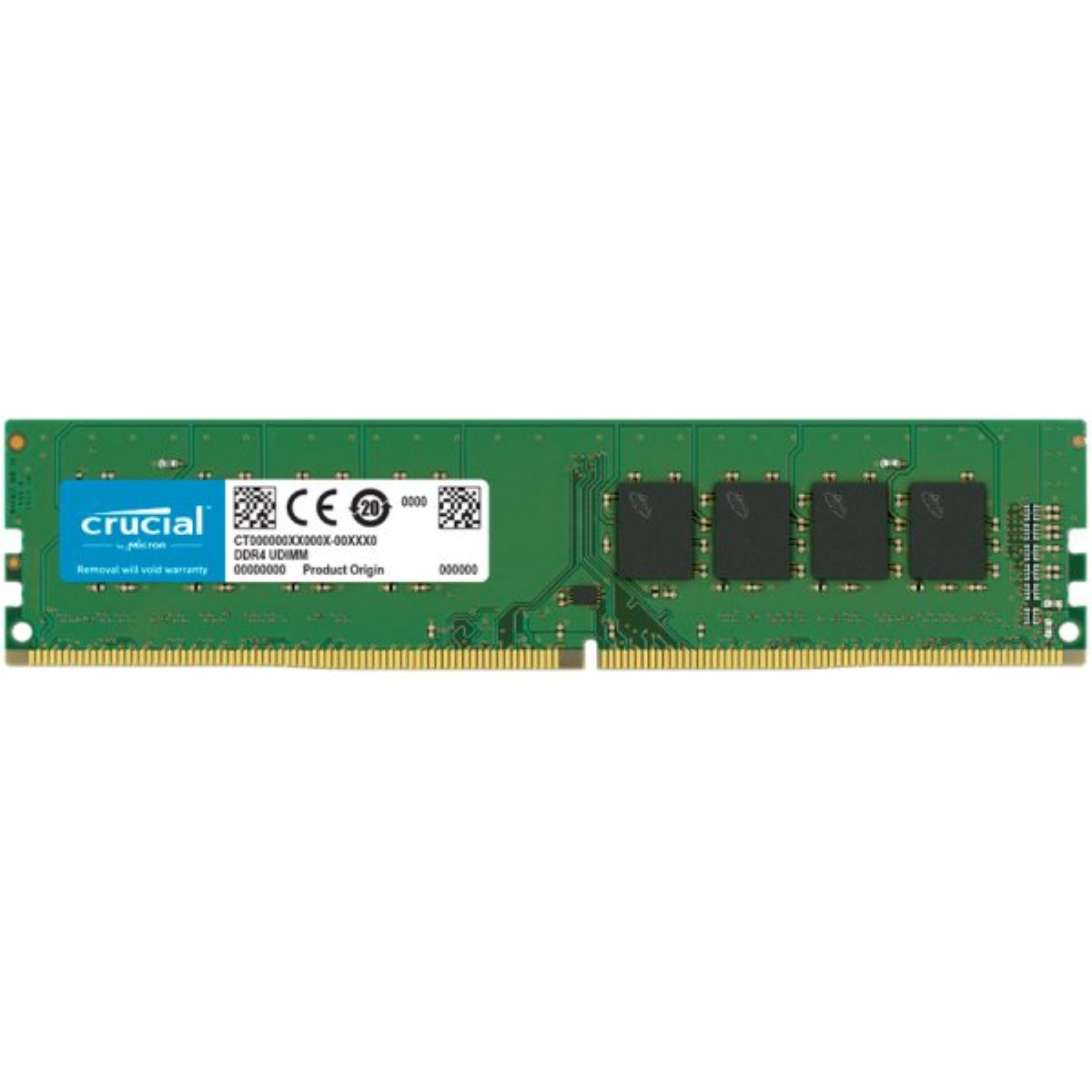 Памет CRUCIAL 16GB DDR4 2666 MHz CL19