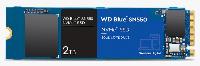Диск SSD WD Blue SN550 2TB M.2 PCIe NVMe Gen 3.0 x 4 2280 - WDS200T2B0C Снимка 1