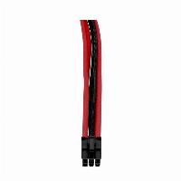 Комплект оплетени кабели Thermaltake TtMod Black/Red Снимка 4