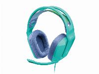 Геймърски слушалки LOGITECH G335 Wired Gaming Headset MINT - 981-001024 Снимка 1