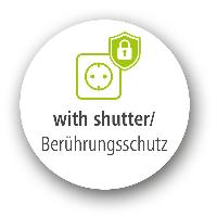 Разклонител  HAMA 137351, 5 гнезда, USB 3.4A, 1.4м, Бутон вкл/изкл, Защита срещу деца, Черен Снимка 2