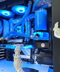Геймърски компютър Mystique Custom Water Build (AMD Ryzen 7 5800X, 16GB, RTX 3080 10GB, 500GB SSD, 850W) Снимка 6