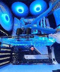 Геймърски компютър Mystique Custom Water Build (AMD Ryzen 7 5800X, 16GB, RTX 3080 10GB, 500GB SSD, 850W) Снимка 9