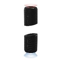 Блутут мобилна колонка от 2 части HAMA Twin 2.0, 2 x 10 W, Черен Снимка 1