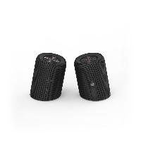 Блутут мобилна колонка от 2 части HAMA Twin 2.0, 2 x 10 W, Черен Снимка 2