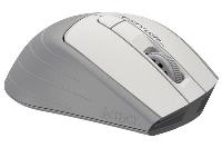 Оптична мишка A4tech FG30S Fstyler, Безжична, Безшумна, Бял Снимка 2