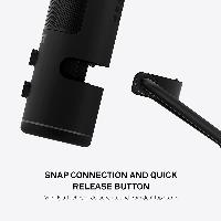 Настолен микрофон NZXT Capsule Черен Снимка 6