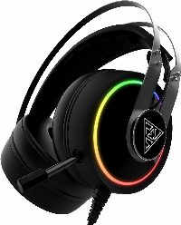 Геймърски слушалки Gamdias HEBE P1A RGB Gaming Heaphones Virtual 7.1 Vibration Снимка 1