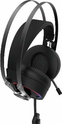 Геймърски слушалки Gamdias HEBE P1A RGB Gaming Heaphones Virtual 7.1 Vibration Снимка 10