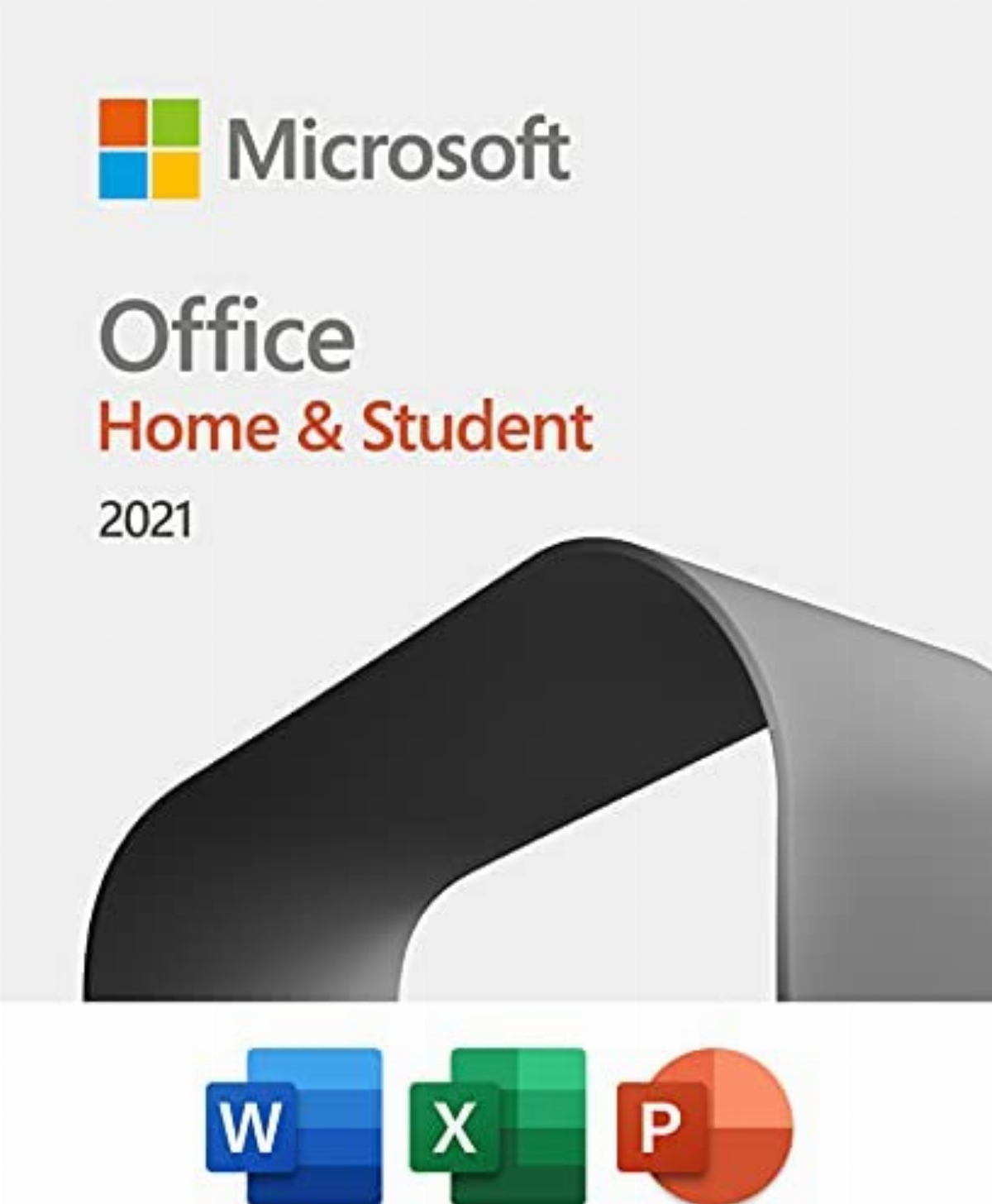 Microsoft Office Home and Student 2021 English EuroZone Medialess